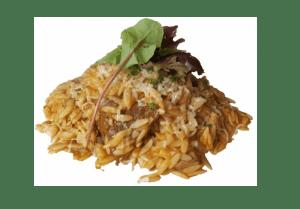 Griekse rijst pasta's